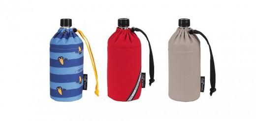 bouteilles d'eau bio