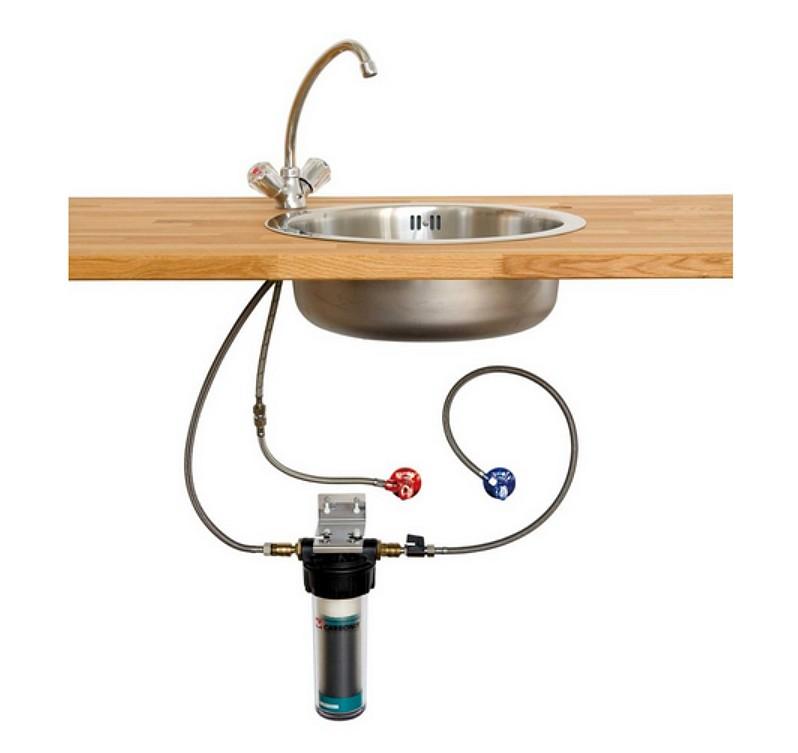 Les filtres carbonit eau for Filtre a eau sur robinet
