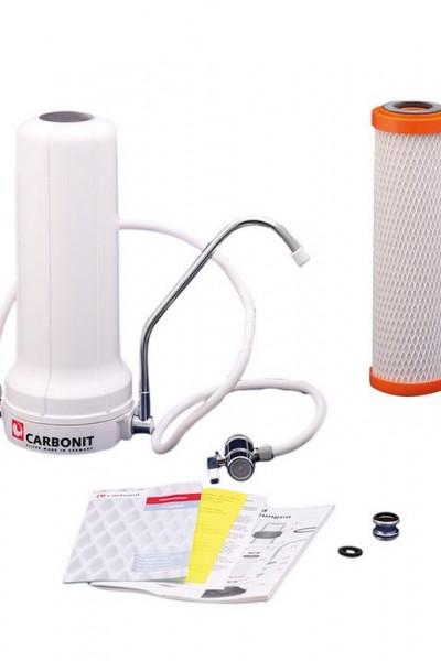 Filtre à eau sur évier Carbonit SanUno Confort