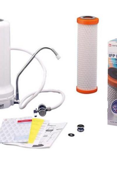 Filtre sur évier Carbonit SanUno Confort Pack eco 1 an