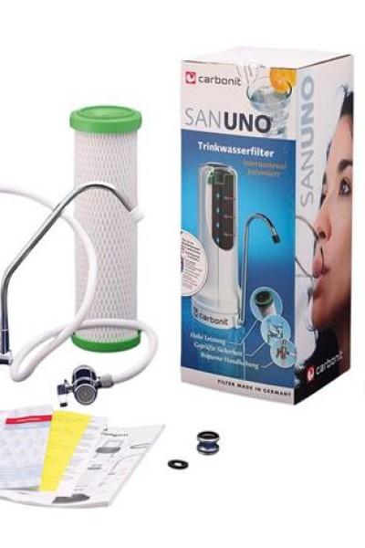 Filtre sur évier Carbonit SanUno Classic Pack eco un an